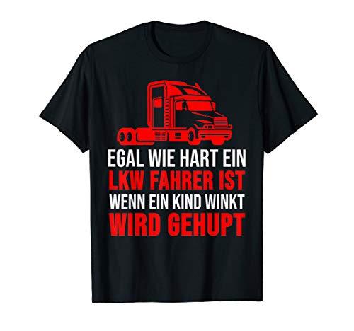 Herren Lkw Fahrer Shirt Truck Trucker Lastkraftwagen Geschenk T-Shirt