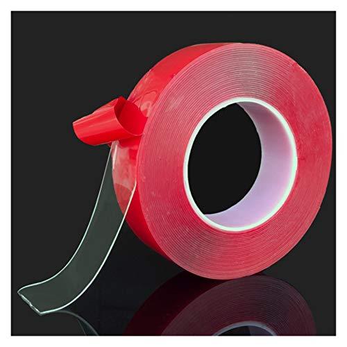 300cm transparente de silicona cinta de doble cara de alta resistencia sin rastros de cinta adhesiva pegatinas de estar Productos for el coche etiquetas Vinilo Coche