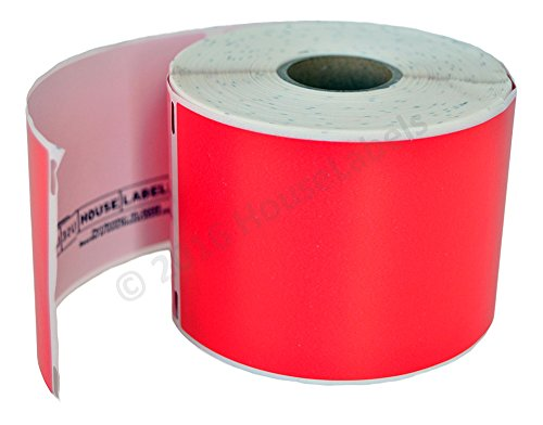 """HOUSELABELS Compatible DYMO 30256 RED Shipping Labels (2-5/16"""" x 4"""") Compatible with Rollo, DYMO LW Printers, 1 Roll / 300 Labels per Roll Photo #5"""