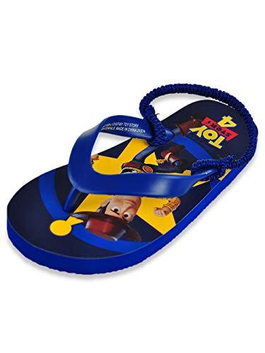 Disney Toy Story Boys' Flip Flop Sandals - Navy, 5/6 Todder