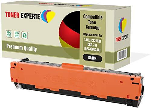 TONER EXPERTE® Schwarz Premium Toner kompatibel zu 131X CF210X 731 für HP Laserjet Pro 200 Color MFP M276nw M276n M251nw M251n Canon i-SENSYS LBP7100Cn LBP7110Cw MF623Cn MF628Cw MF8230Cn MF8280Cw