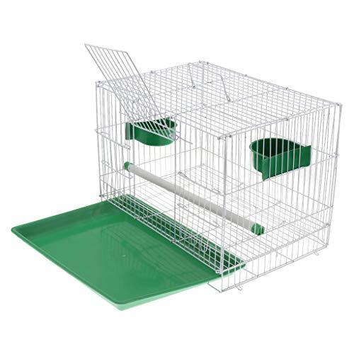 PETSOLA Vogelkäfig Papagei Hausvögel Zuchtbox Nest Haustierzubehör Zufällige Farbe