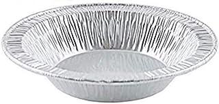 """Pactogo 4 1/2"""" Foil Tart Pan 7/8"""" Deep - Mini Baking Pie Tins (Pack of 50)"""
