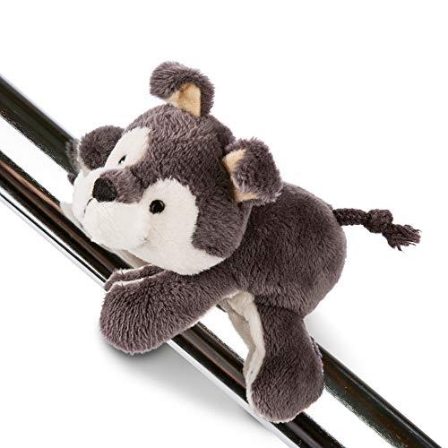 NICI Magnettier Husky Swante 12 cm – MagNICI Magnet-Plüschtier Hund – Kuscheltier mit Magnet – Magnettiere für Kühlschrank, Tafel, Metall und vielem mehr – 45726