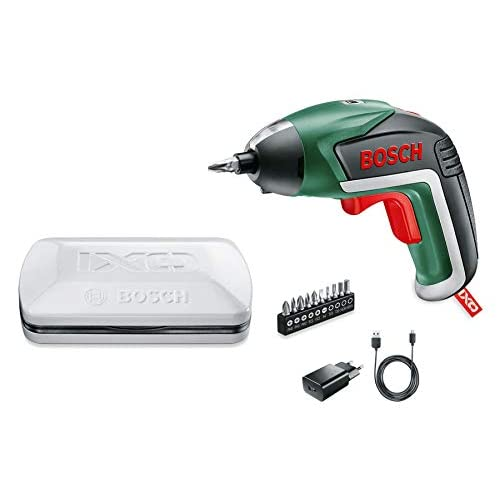 Bosch Home and Garden IXO V - Versione Base Cacciavite con Batteria al Litio, 3.6 V, Verde