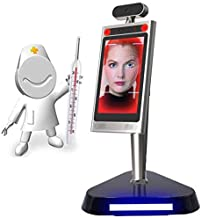 8 Inch Face Recognition Time Attendance System Biometric Access Control Solutions Airport Facial Recognition Infrared Ther...