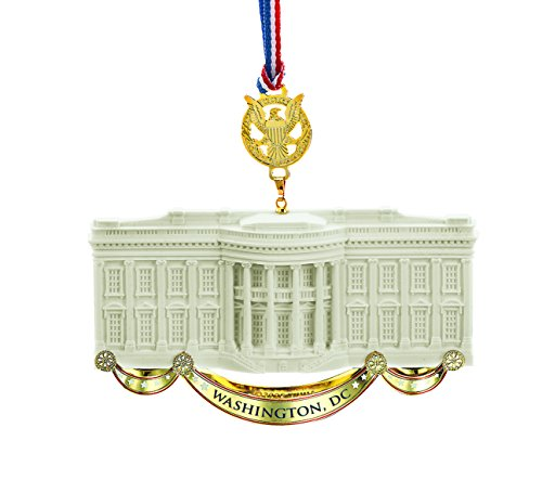 Official White House Commemorative Ornament, Honoring James Hoban, White House Architect