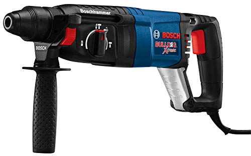 Bosch 11255VSR Bulldog Xtreme - 8 Amp 1 Inch Corded Variable Speed Sds-Plus Concrete/Masonry Rotary Hammer Power Drill with Carrying Case