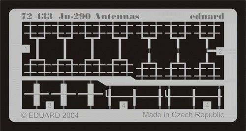Eduard Accessories 72433 Modellbauzubehör Junkers Ju 290 Antennas