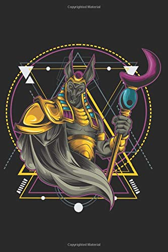 Anubis Warrior Geometric Notebook: Lined White Pages: Journal for Drawing, Painting, Sketching, Writing and Doodling 120 Pages 6' x 9'. Warrior Anubis ... Martial Arts, Fighter, Boxing, Champion