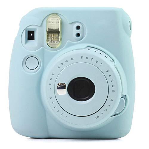 MINGFENG - Carcasa de silicona para cámara Fujifilm Instax Mini 9, Mini 8+, Mini 8, Mini 8, Mini 8, Mini 8, Mini 8, color rosa