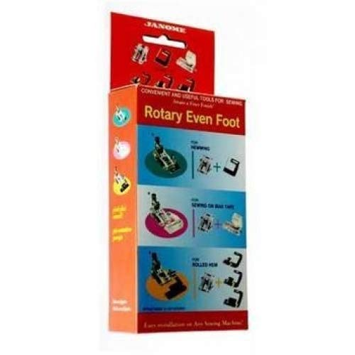Janome Rotary Even Foot Set (Renewed)