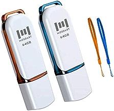 64GB USB 2.0 Flash Drive 2 Pack 64 GB Thumb Drives Jump...