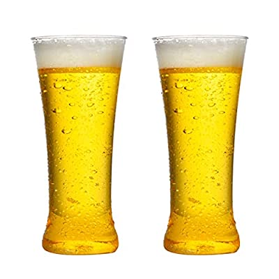 Amazon - Save 80%: Host Beer Glass, Freezer Gel Chiller Double Wall Plastic Frozen Pint Glass (E, 2pc)