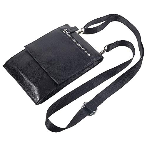 DFV mobile - Case Pocket Shoulder Bag with Lanyard for Tablet and...