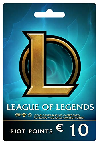 League of Legends €10 Tarjeta de regalo prepaga (1380 Riot Points)