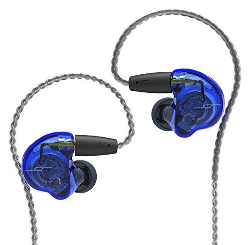 【 ハイブリッド・ドライバ ~ BA + 特許技術 デュアルコイル DD 搭載 】(JPRiDE) Premium 1980 BLUE MOON 高音質 イヤホン 有線 ハイエンドイヤホン IEM インイヤーモニター mmcx リケーブル 着脱可能 ハイブリッド
