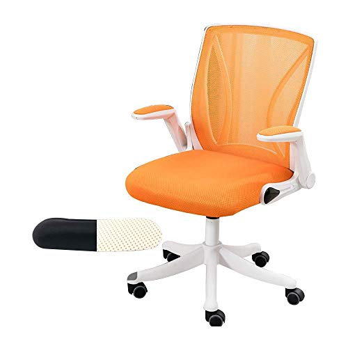 Daily Equipment Chair Computerstuhl Stofflehne mit hoher Rückenlehne Höhenverstellbarer, ergonomischer Bürostuhl aus Latexkissen Aufgabe Drehbarer Executive-Computerstuhl für Büro-Besprechungsraum