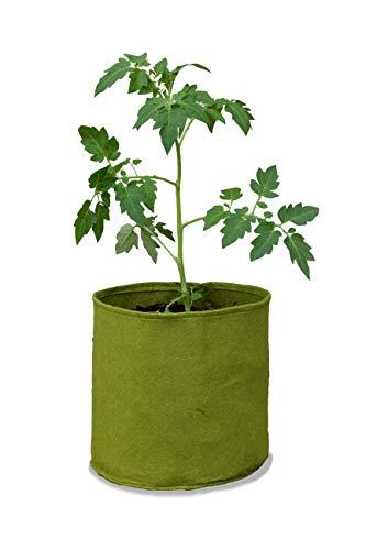 Tierra Garden Haxnicks - VIG080101 - Pots « Vigo » - Vert, 18 x 18 x 20 cm, Green, 10 l