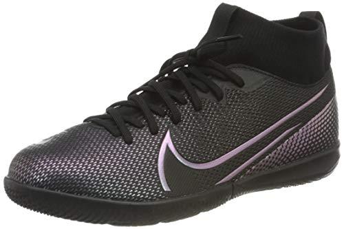 Nike Unisex Superfly 7 Academy IC Fußballschuhe, Schwarz (Black/Black 010), 38 EU
