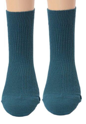 Shimasocks Damensöckchen Damen Socken - Strümpfe aus 100prozent kbA Baumwolle - auch Allergiker, Farben alle:petrol, Größe:37/38