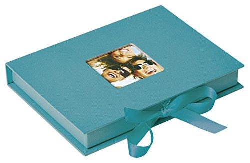 Walther Design Foto-Geschenkbox Fun, petrolgrün, für Fotos bis Format 13X18 cm