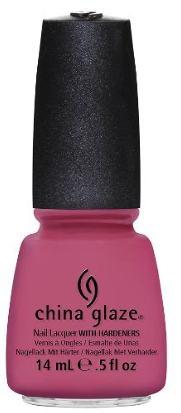 ジョリー放送ボイラーChina Glaze Nail Lacquer Life is Rosy 0.5 Fluid Ounce [並行輸入品]