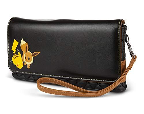 Pokémon PowerA pour Nintendo Switch ou Nintendo Switch Lite - Pikachu et Évoli sac de console, sac de transport pour accessoires