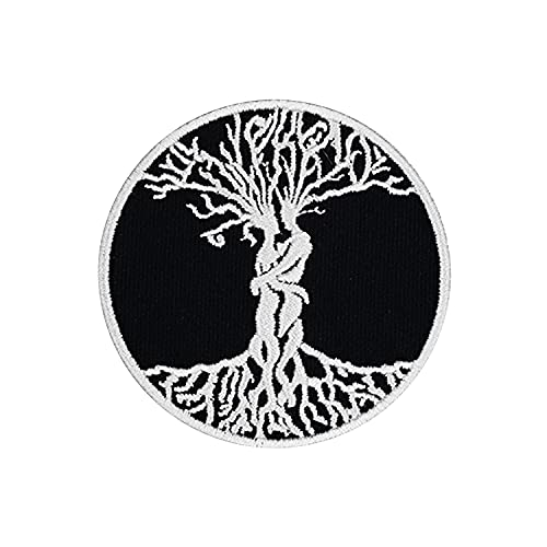 HECOO The Tree of Life Celtic Love Forever Patch Embroidered Applique Badge Iron On Patch