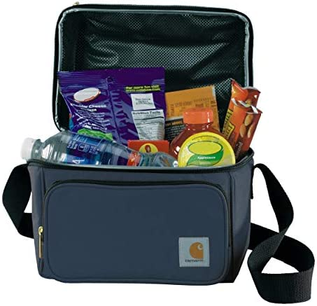 Carhartt Deluxe Dual Compartment Insulated Lunch Cooler Bag Navy product image