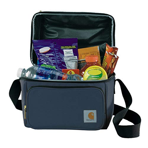Carhartt Deluxe Dual Compartment Insulated Lunch Cooler Bag, Navy
