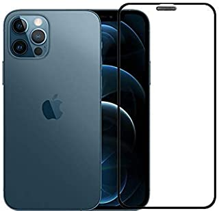 Al-HuTrusHi iPhone 12 Pro Screen Protector, 5D Premium Tempered Glass Anti-Scratch 0.33mm 9H Hardness Transparent Glass Sc...