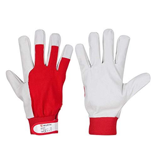 Würth Schutzhandschuh Protect für Handwerker, Würth Art.-Nr. 0899400133 - GR.9 l, W[rth Art.-Nr. 0899400134 - GR.10 XL (6, 10 XL)