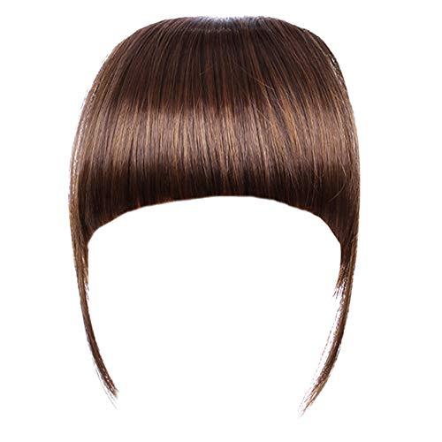 Agrafe en Fausse Frange de Cheveux avec Le Temple Bangs Extension de Cheveux Perruque Frange Plate postiche
