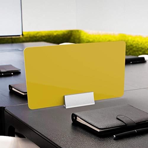 CYGJ - Protector de plexiglás, 50 x 30 cm, color amarillo
