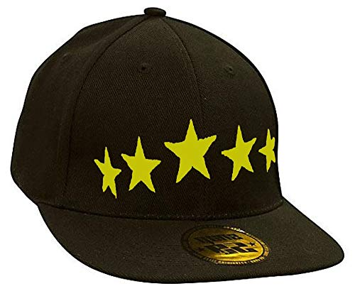 Bonnet Casquette Snapback Baseball Stars Bad Devil Eyes Hip-Hop Bad Hair Day