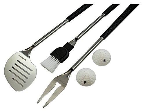 Golf Geschenke & Galerie-teiliges Grillbesteck mit Golf Club Griffe
