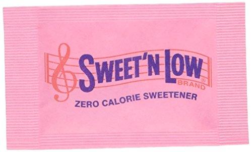 SWEET'n LOW 100 Päckchen 0 Kalorien Süßstoff