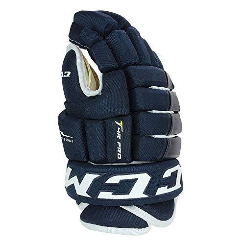 CCM TACKS 4R PRO Senior NAVY15 Eishockey-Handschuhe