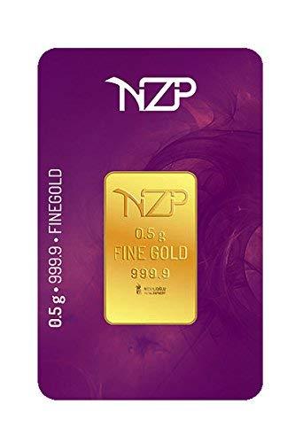 Goldbarren 0,50 Gramm,Goldbarren,0,5g Gold Feingehalt 999,9