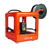Easythreed Nano Mini 3D Printer with Removable Building Platform,Full Assembly,Suitable for Kids and Beginners,Family 3D Printing Set,Best Desktop Toybox 3D Printers for Students Education(Orange)