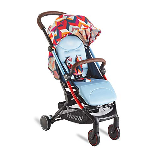 Best Review Of CY Baby Stroller, Portable Folding Four Seasons Universal Shock Absorber High Landsca...