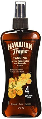 Hawaiian Tropic Y0073056C6CSS2 Aceite Spray FPS4+, 240ml
