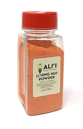 Alii Snack Co Li Hing Mui Powder 6 oz Shaker Jar