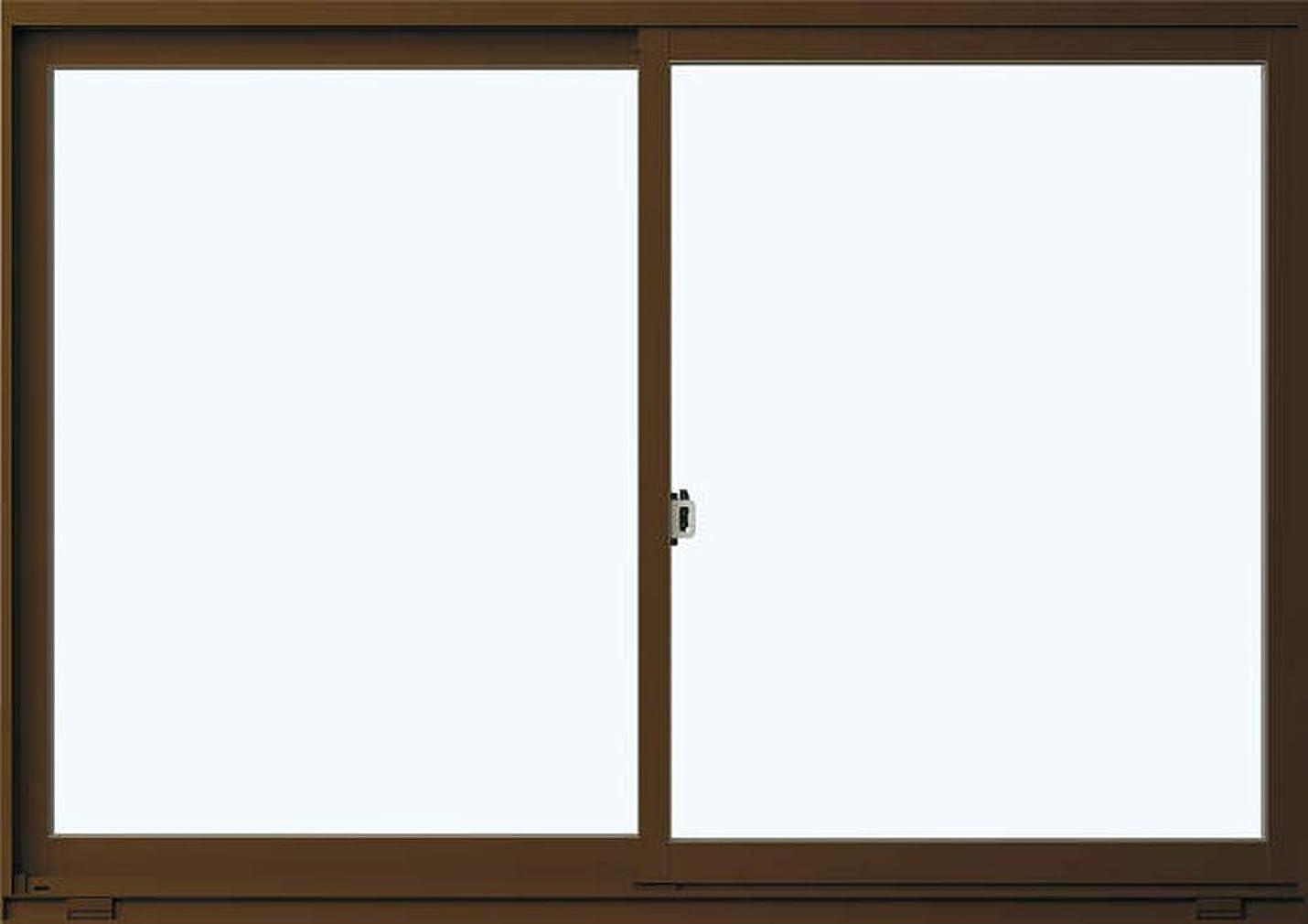 サスティーン繊維ポジティブ返品?キャンセル不可品 メーカー受注生産品 アルミサッシ YKKap 住居向け サッシ 樹脂アングル 「フレミングJ」 引違い窓 半外付型 在来工法 W 780mm×H970mm 07409 窓 引き違い 半外付け 単板ガラス アングル付 シングルガラス