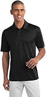 Port Authority Tall Silk Touch Performance Polo. TLK540 Black XLT