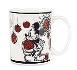 Egan PWM21CH/W Mug Mickey Christmas Bianco ML.330, Porcellana