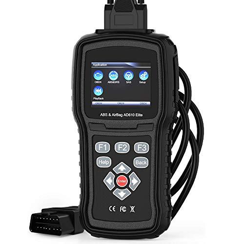 For Sale! AMJFB OBDII Car Diagnostic Scanner Tool, OBDII Reader, ABS SRS(Airbag) Reset Scan Tool, Au...