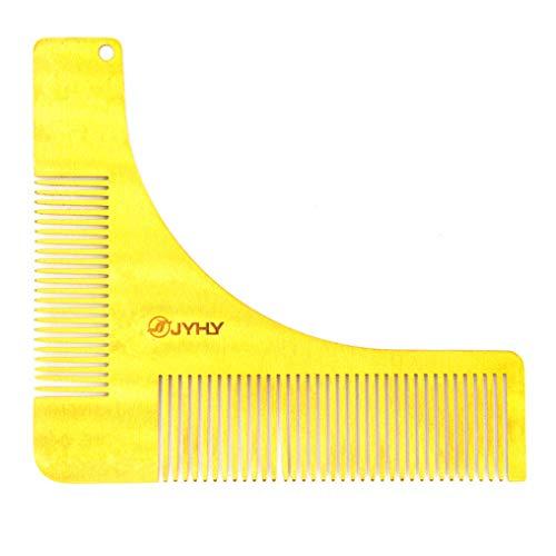 Peine de Barba Plantilla de Barba Herramienta de Formación de Barba Adecuado para Todos los Peines que Forman Barba La Barba Tiene Forma de Recortador de Barba o Razor Regalo Hombre