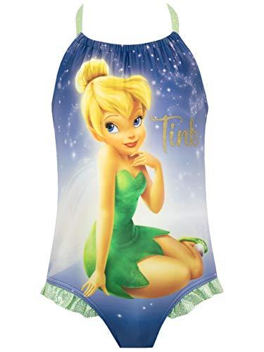 Disney Mädchen Tinkerbell Badeanzug Blau 122